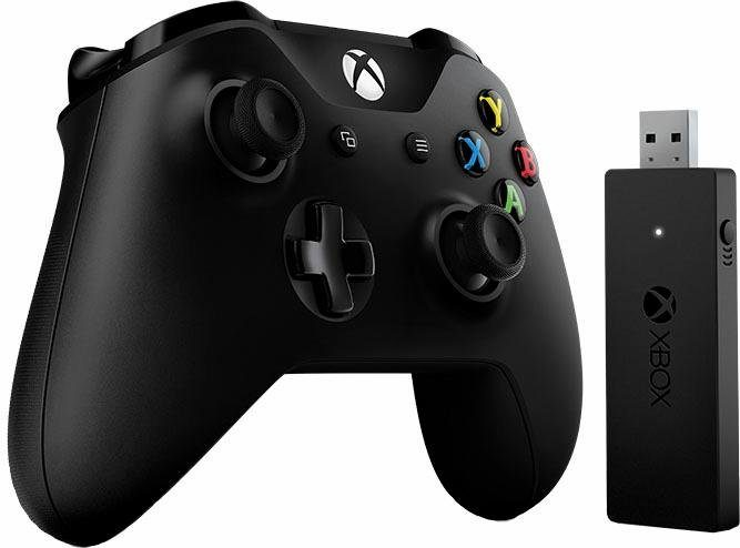 Microsoft® Xbox Controller Wireless mit Adapter für Windows