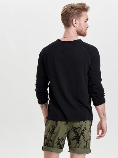 ONLY & SONS Langärmeliges T-Shirt