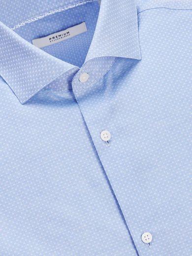Jack & Jones Mircoprint- Langarmhemd
