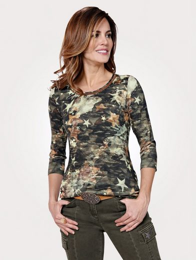 Mona Zierband Shirt Mona Mit Shirt Shirt Zierband Mona Mit Schimmerndem Mit Schimmerndem ZgSqwT4