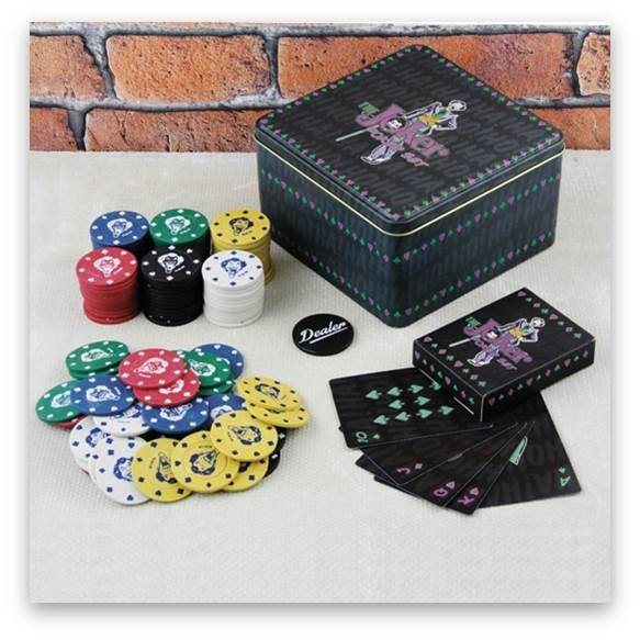 paladone fanartikel the joker poker set kaufen otto. Black Bedroom Furniture Sets. Home Design Ideas