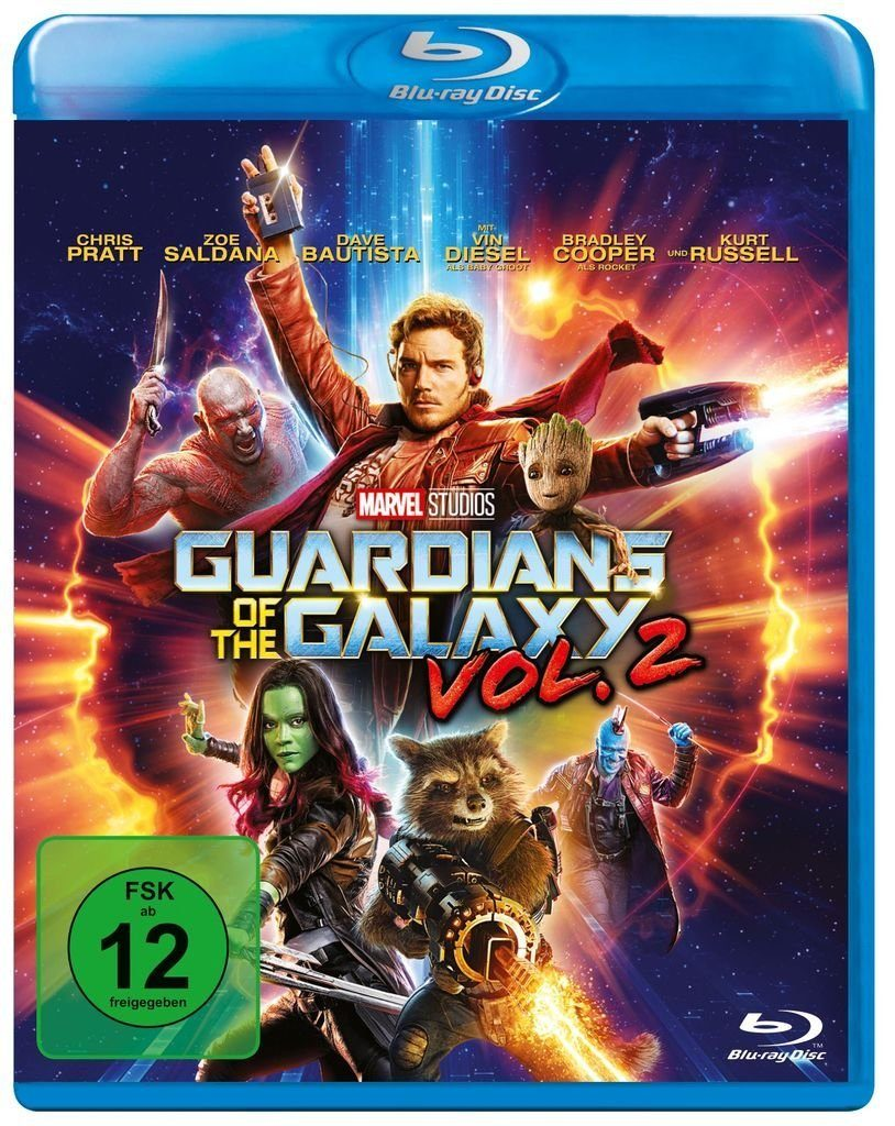 Disney BLU-RAY Film »Guardians of the Galaxy Vol. 2«