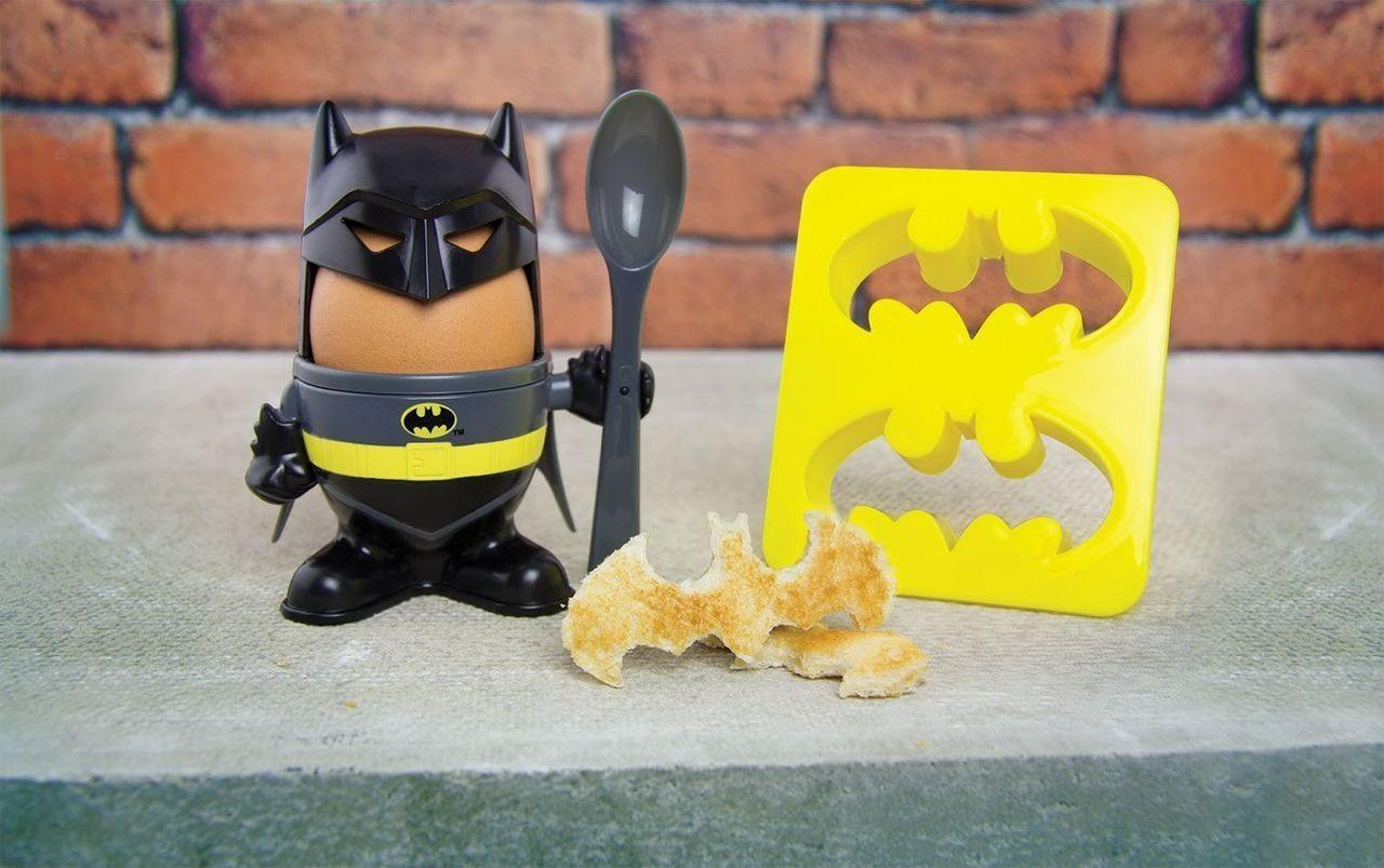 Paladone Fanartikel »Batman Eierbecher und Toastschneider«
