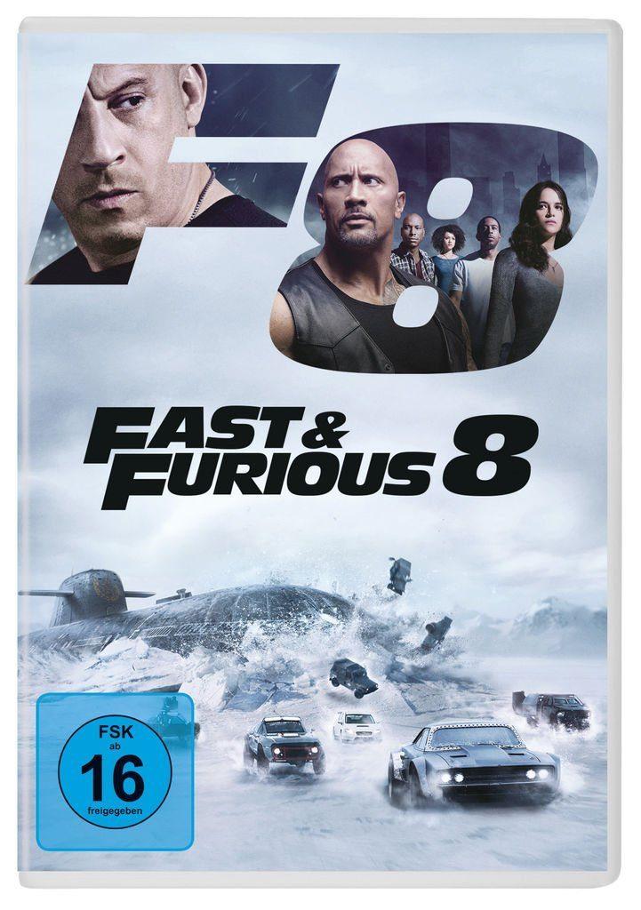 Universal DVD - Film »Bestseller - Fast & Furious 8«