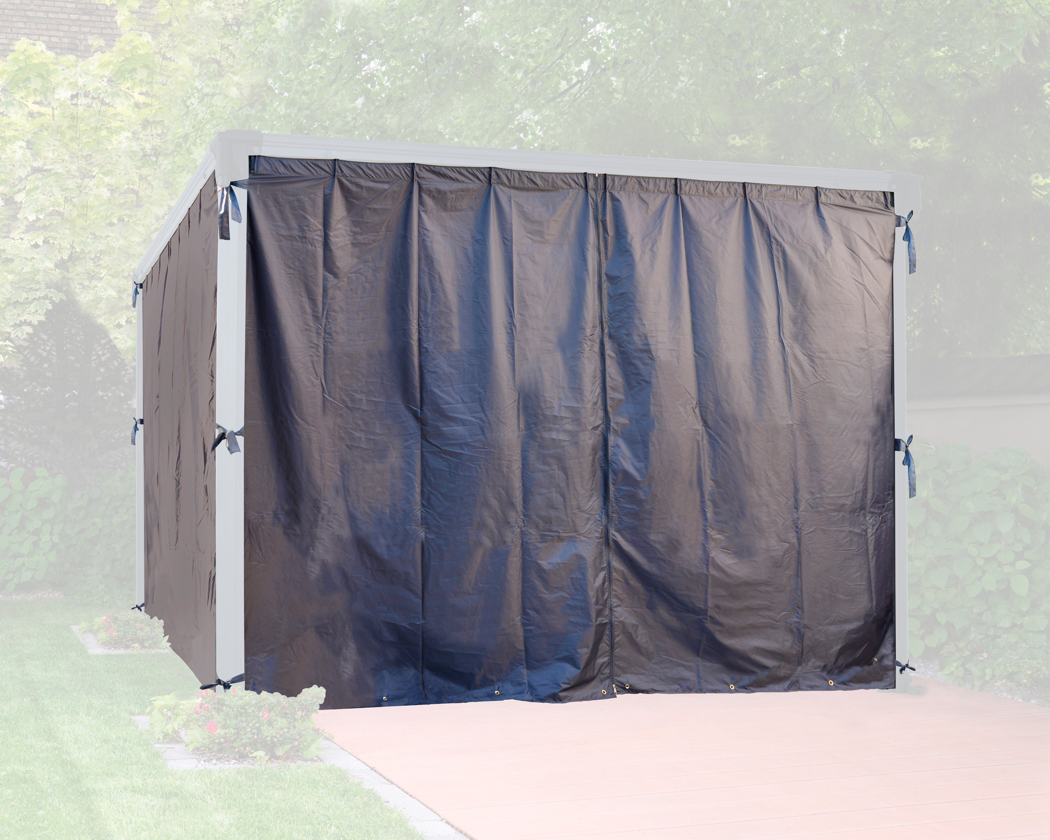 PALRAM Seitenteile für Pavillon »Milano«, grau, 4 Stk.