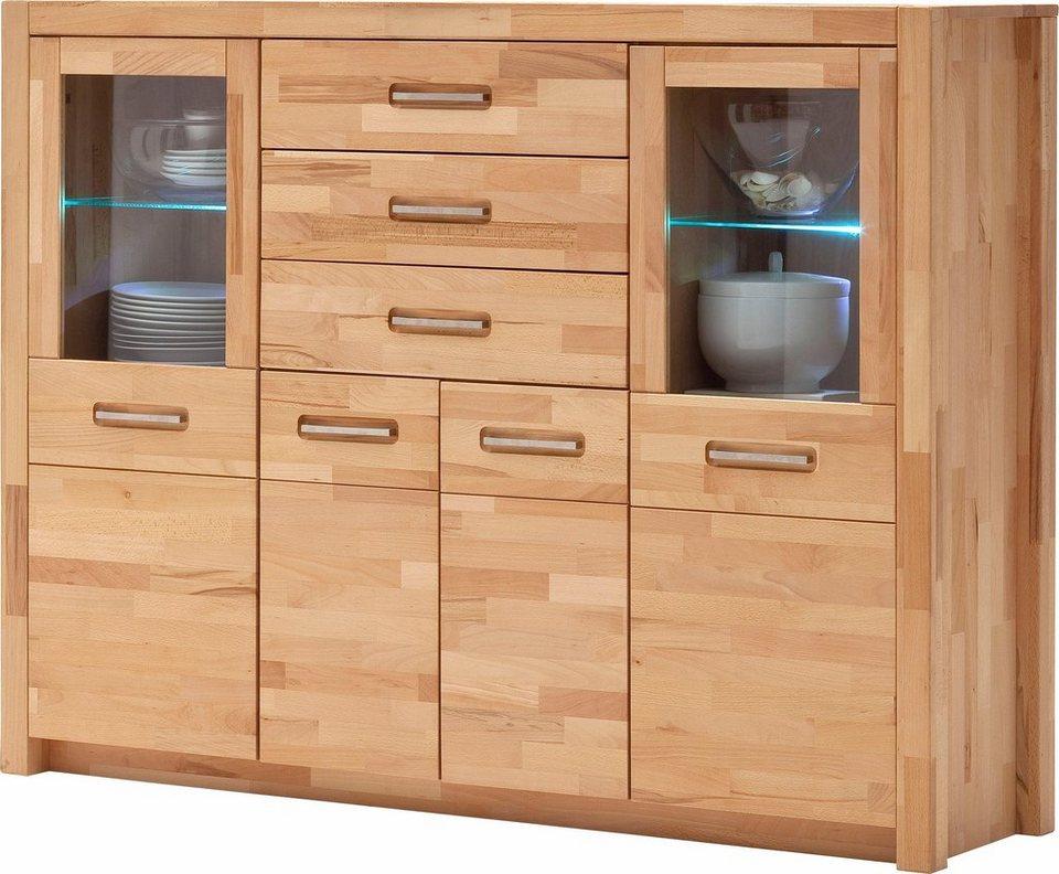 highboard breite 163 cm online kaufen otto. Black Bedroom Furniture Sets. Home Design Ideas