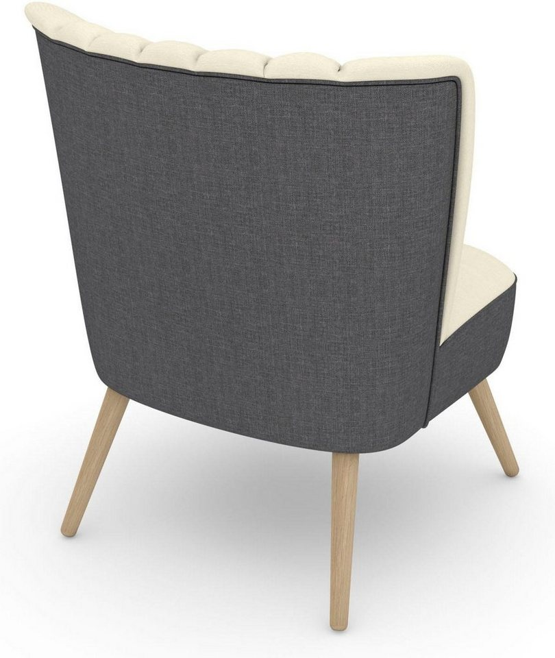 Max Winzer build-a-chair Stuhlsessel »Aspen« im Retrolook, zum Selbstgestalten