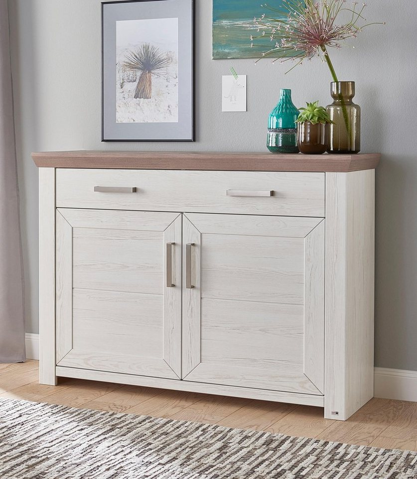 set one by musterring sideboard york typ 53 pino. Black Bedroom Furniture Sets. Home Design Ideas
