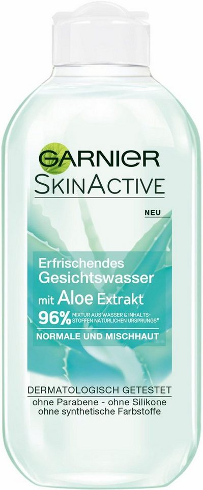 garnier skin active gesichtswasser aloe vera gesichtsreinigung online kaufen otto. Black Bedroom Furniture Sets. Home Design Ideas