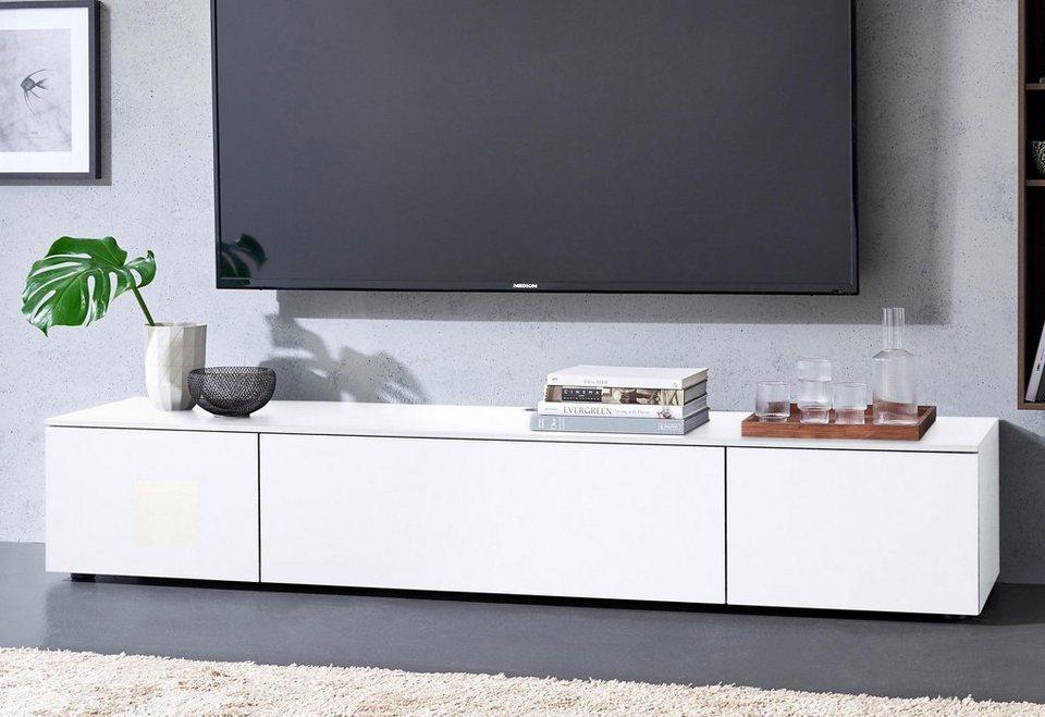 Lowboard Weiß 180 Cm : spectral lowboard select wahlweise mit tv halterung breite 180 cm online kaufen otto ~ Yuntae.com Dekorationen Ideen