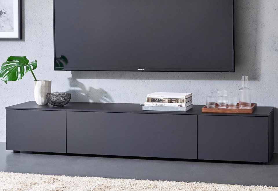 spectral lowboard select wahlweise mit tv halterung breite 200 cm online kaufen otto. Black Bedroom Furniture Sets. Home Design Ideas