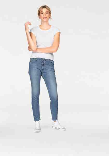 Please Jeans Boyfriend-Jeans »P06D« mit besonderer Knopfleiste