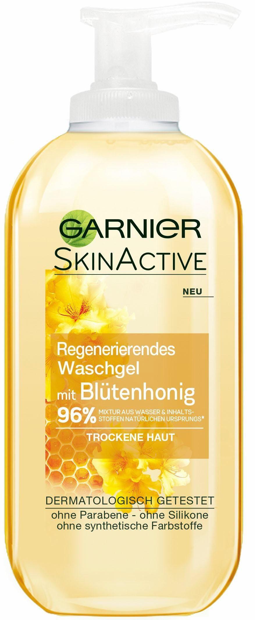 Garnier, »Skin Active Waschgel Honig«, Gesichtsreinigung
