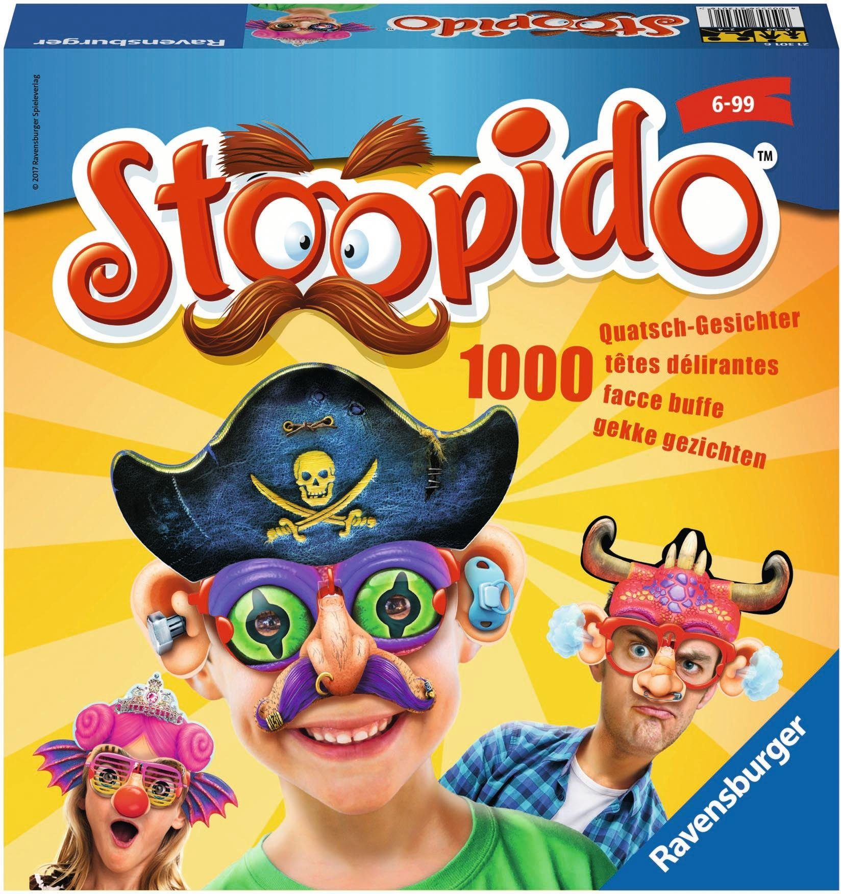 Ravensburger Kinderspiel, »Stoopido«