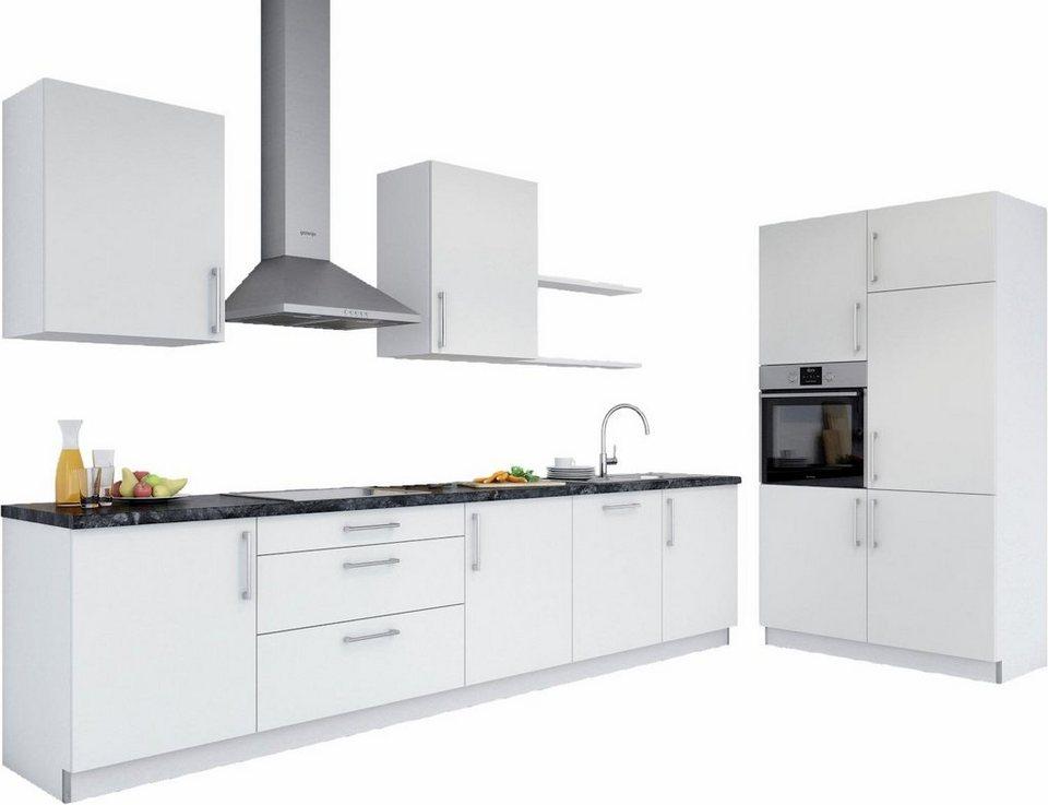 set one by musterring k chenzeile navaro ohne e ger te breite 330 cm lieferzeit 2 wochen. Black Bedroom Furniture Sets. Home Design Ideas