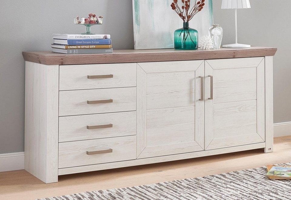 set one by musterring sideboard york typ 51 pino. Black Bedroom Furniture Sets. Home Design Ideas