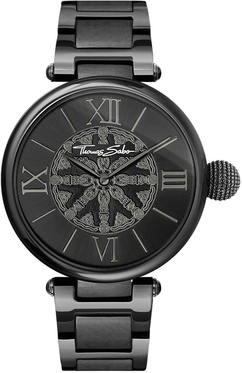 THOMAS SABO Quarzuhr »WA0307-202-203-38 mm«