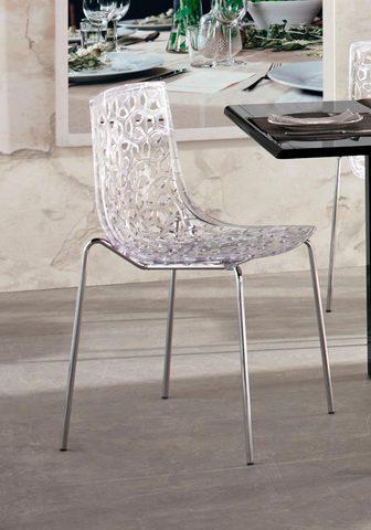 Viena ant kito sustatomos kėdės