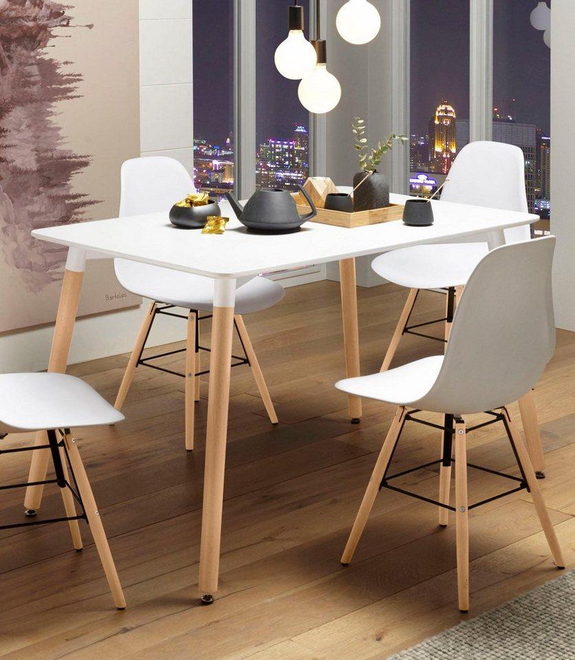 esstisch breite 120 cm in verschiedenen farben online. Black Bedroom Furniture Sets. Home Design Ideas