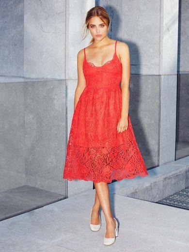 Yas Spitzenträger- Midi Dress