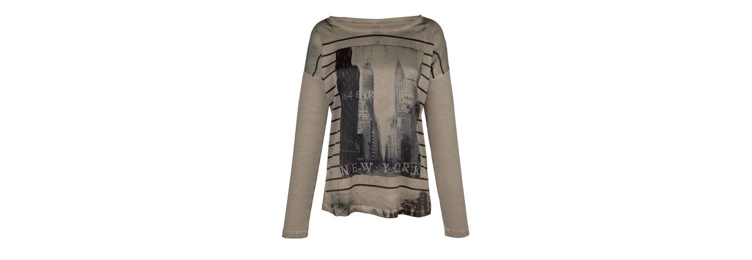 mit mit York Moda New Alba Shirt New Alba Moda Shirt Print tP0Zq