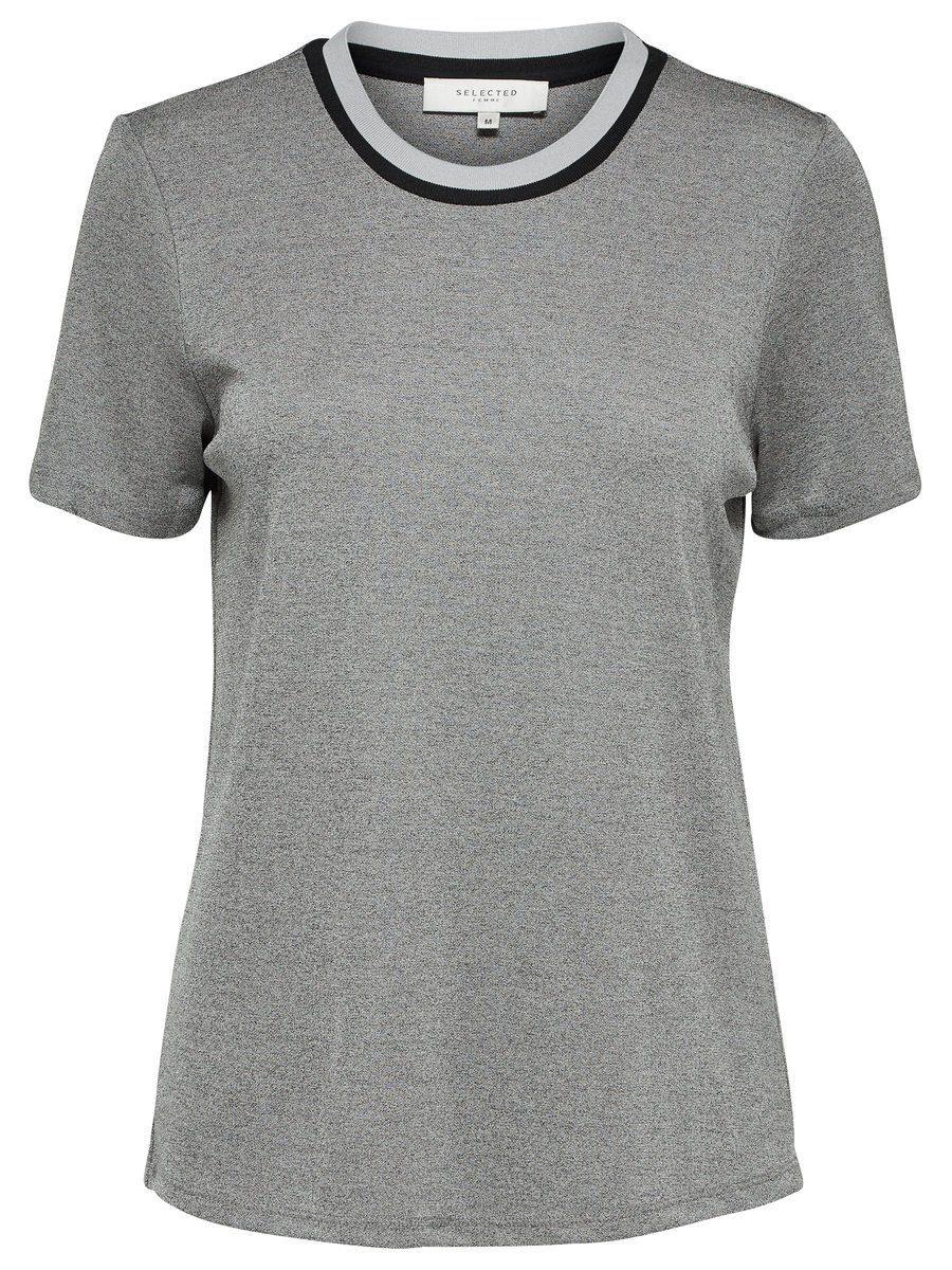 Selected Femme Viskose- T-Shirt