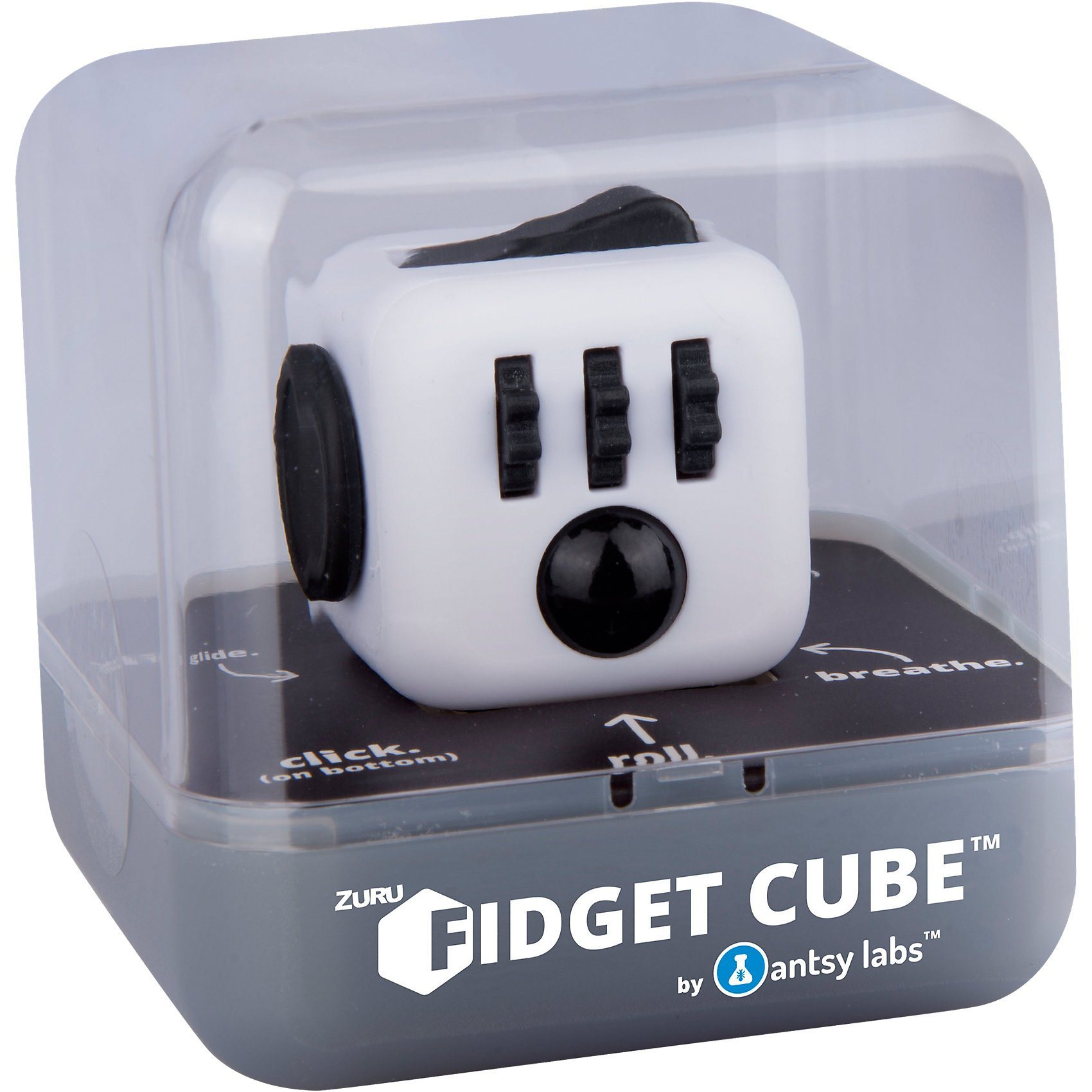 BOTI Fidget Cube - schwarz/weiß