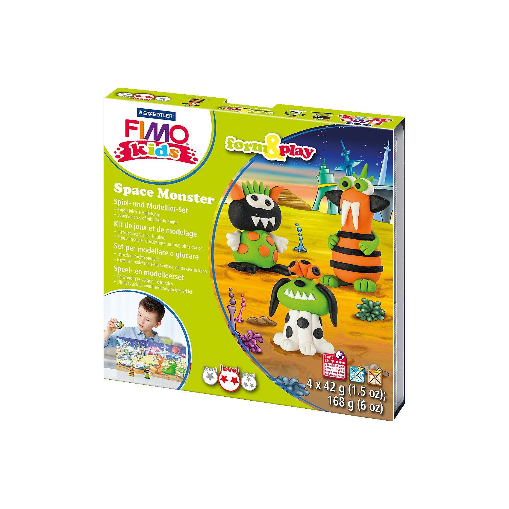 FIMO kids Form & Play Weltraum-Monster