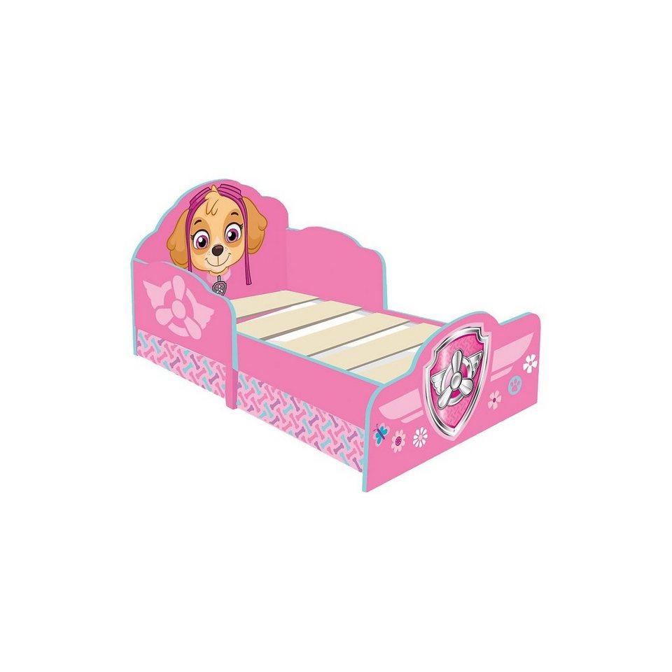 WORLDS APART Kinderbett de Luxe, PAW Patrol Skye, mit 2 Schubladen, pink  online kaufen | OTTO