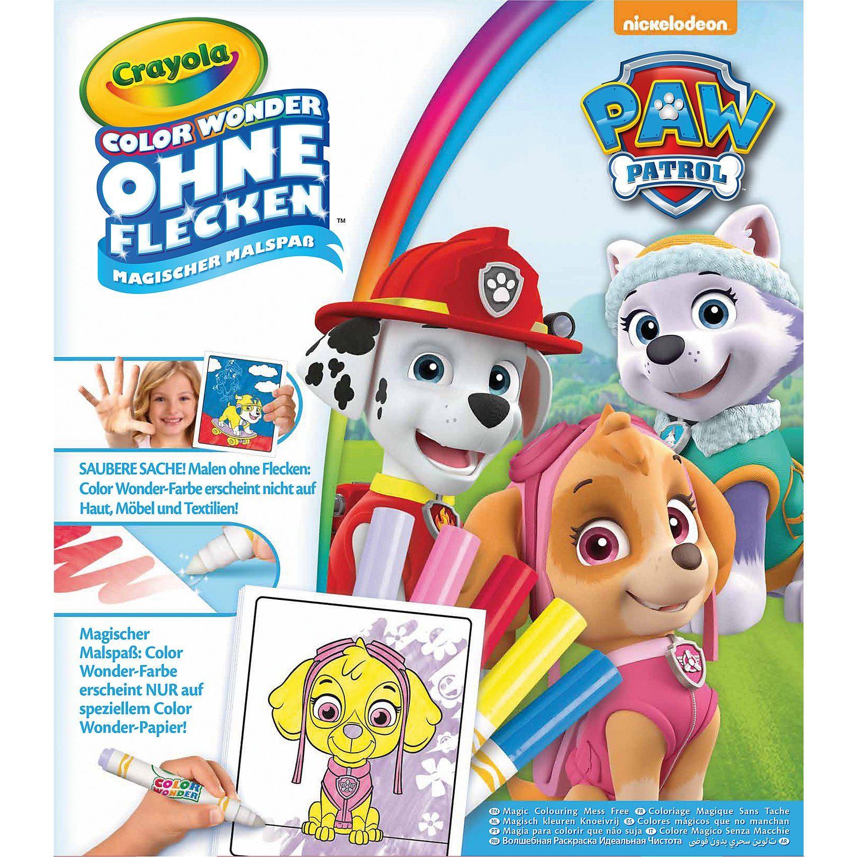 Crayola Color Wonder Magischer Malspaß - Paw Patrol