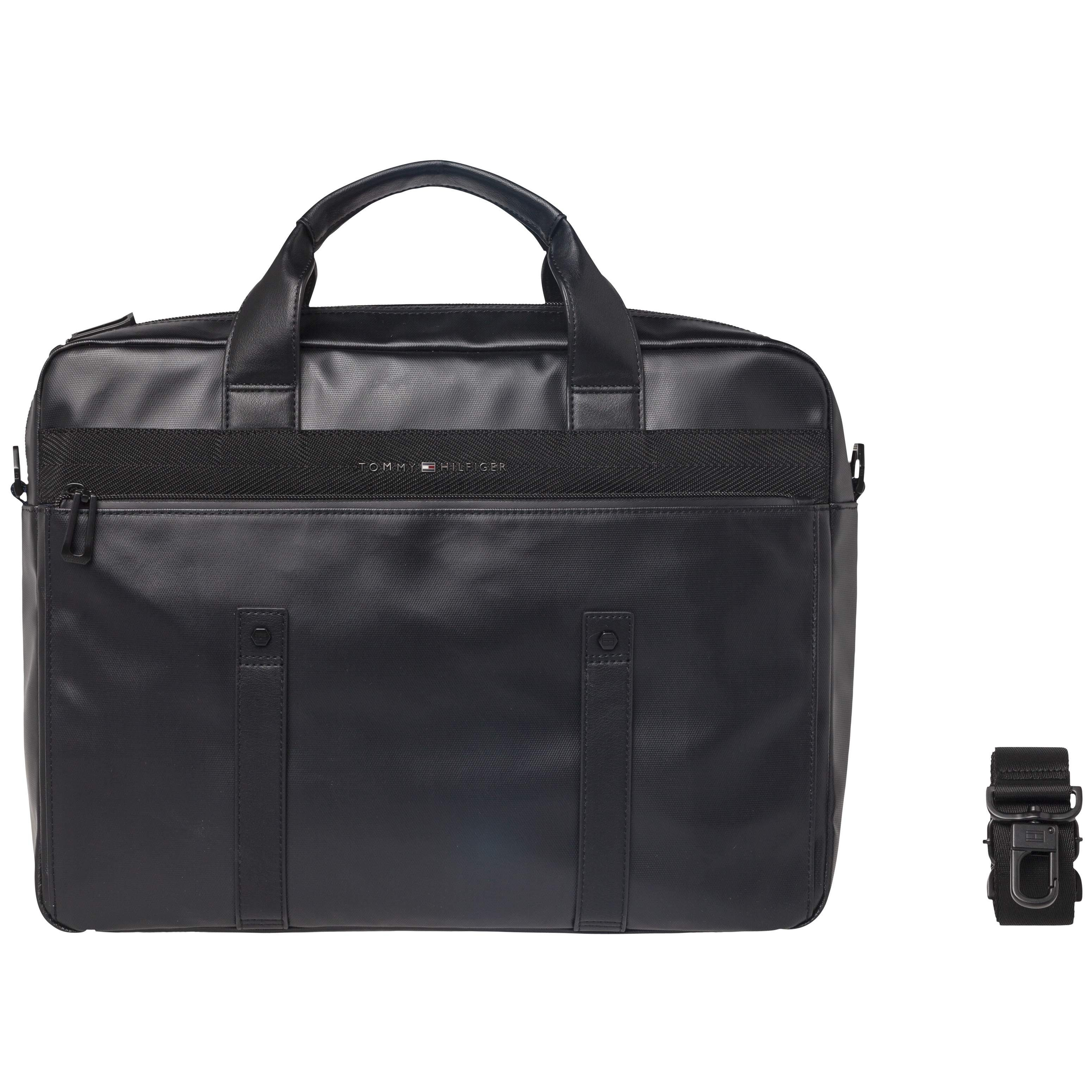 Tommy Hilfiger Tasche »TH COATED COMPUTER BAG«