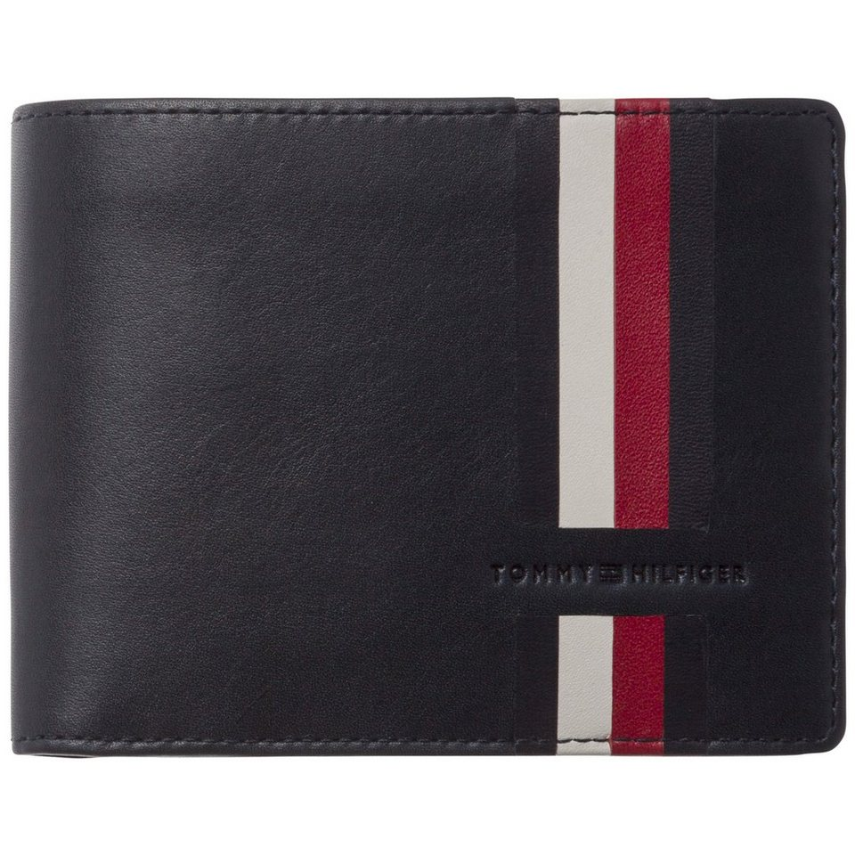 tommy hilfiger portemonnaie icons stripe cc flap and coin. Black Bedroom Furniture Sets. Home Design Ideas