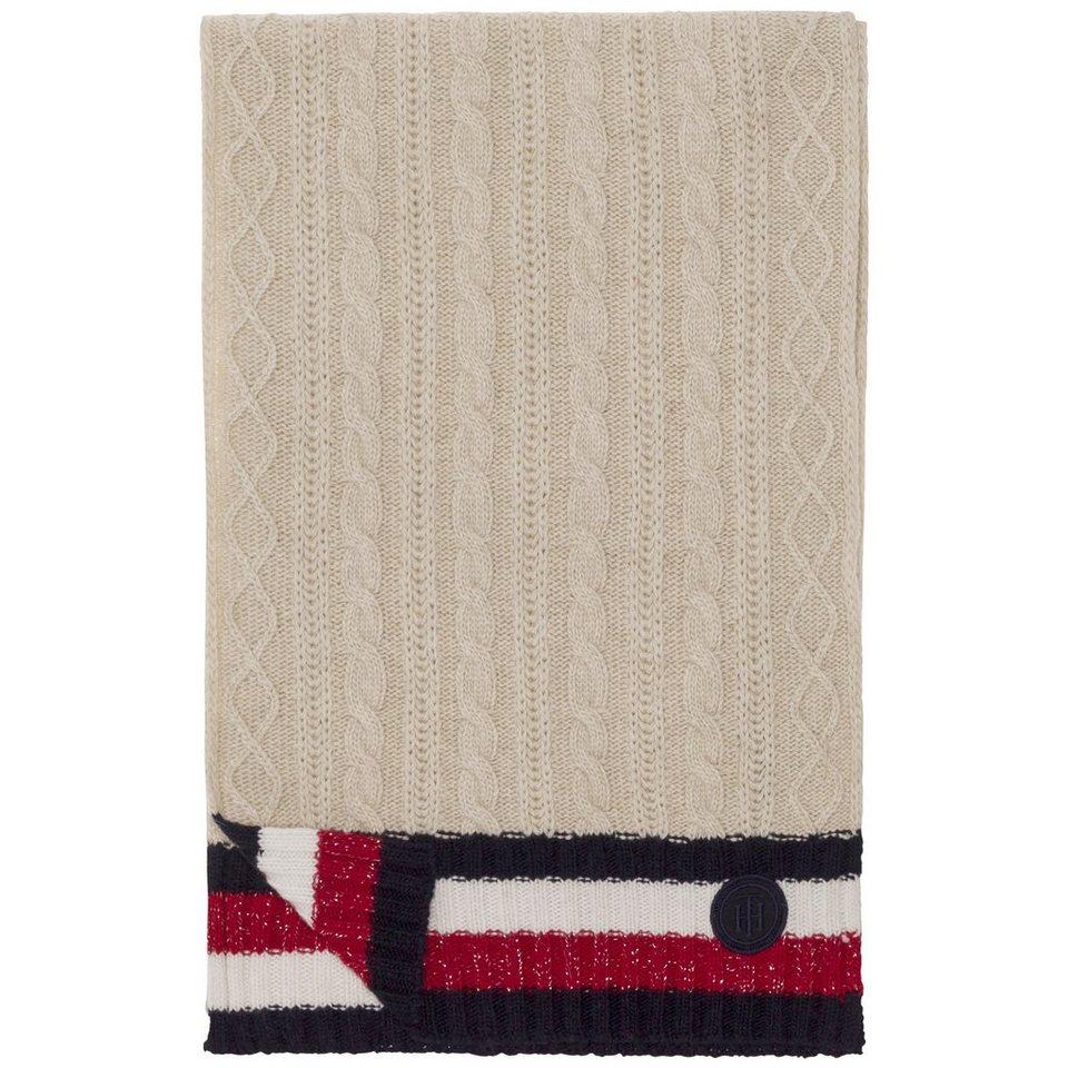 tommy hilfiger schal cable scarf online kaufen otto. Black Bedroom Furniture Sets. Home Design Ideas