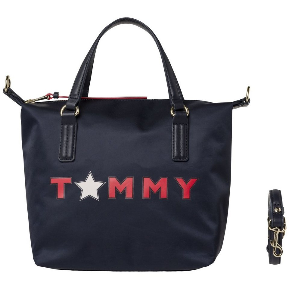 tommy hilfiger tasche poppy small tote tommy star online. Black Bedroom Furniture Sets. Home Design Ideas