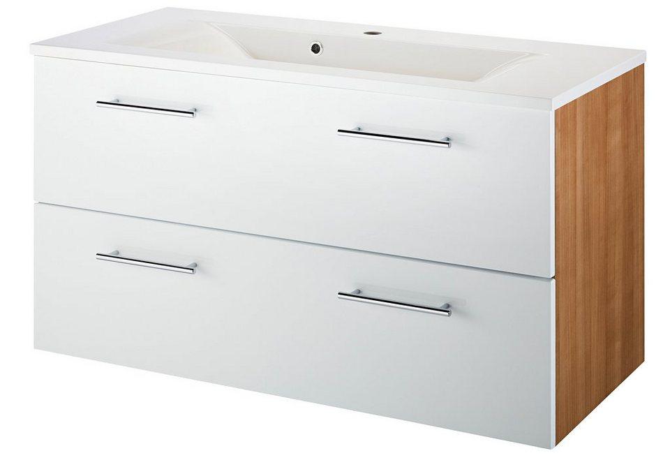 kesper waschtisch malm breite 100 cm 2 tlg otto. Black Bedroom Furniture Sets. Home Design Ideas