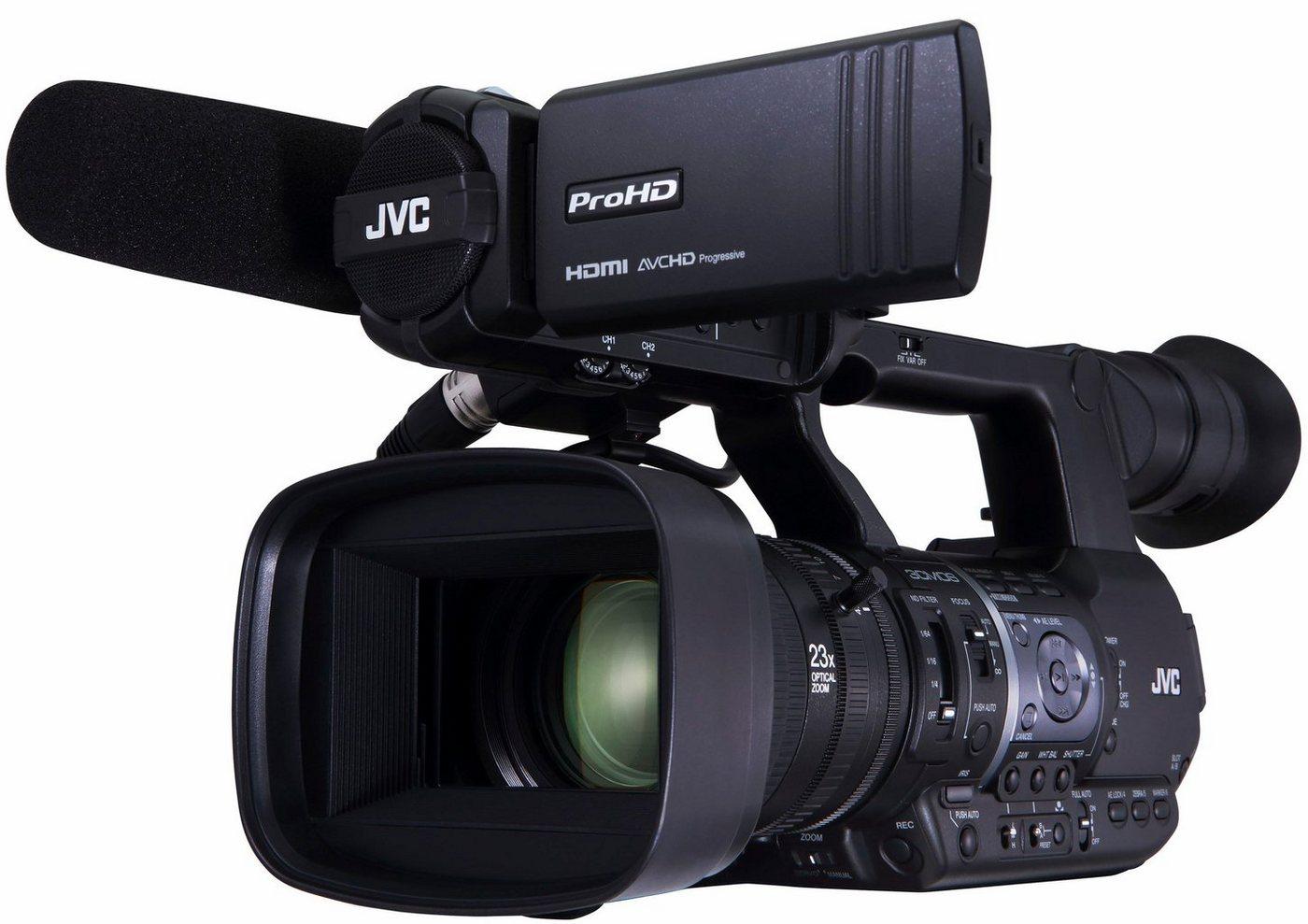Camcorder - JVC »GY HM660« Camcorder (Full HD, WLAN (Wi Fi), 23x opt. Zoom, Bildstabilisator)  - Onlineshop OTTO