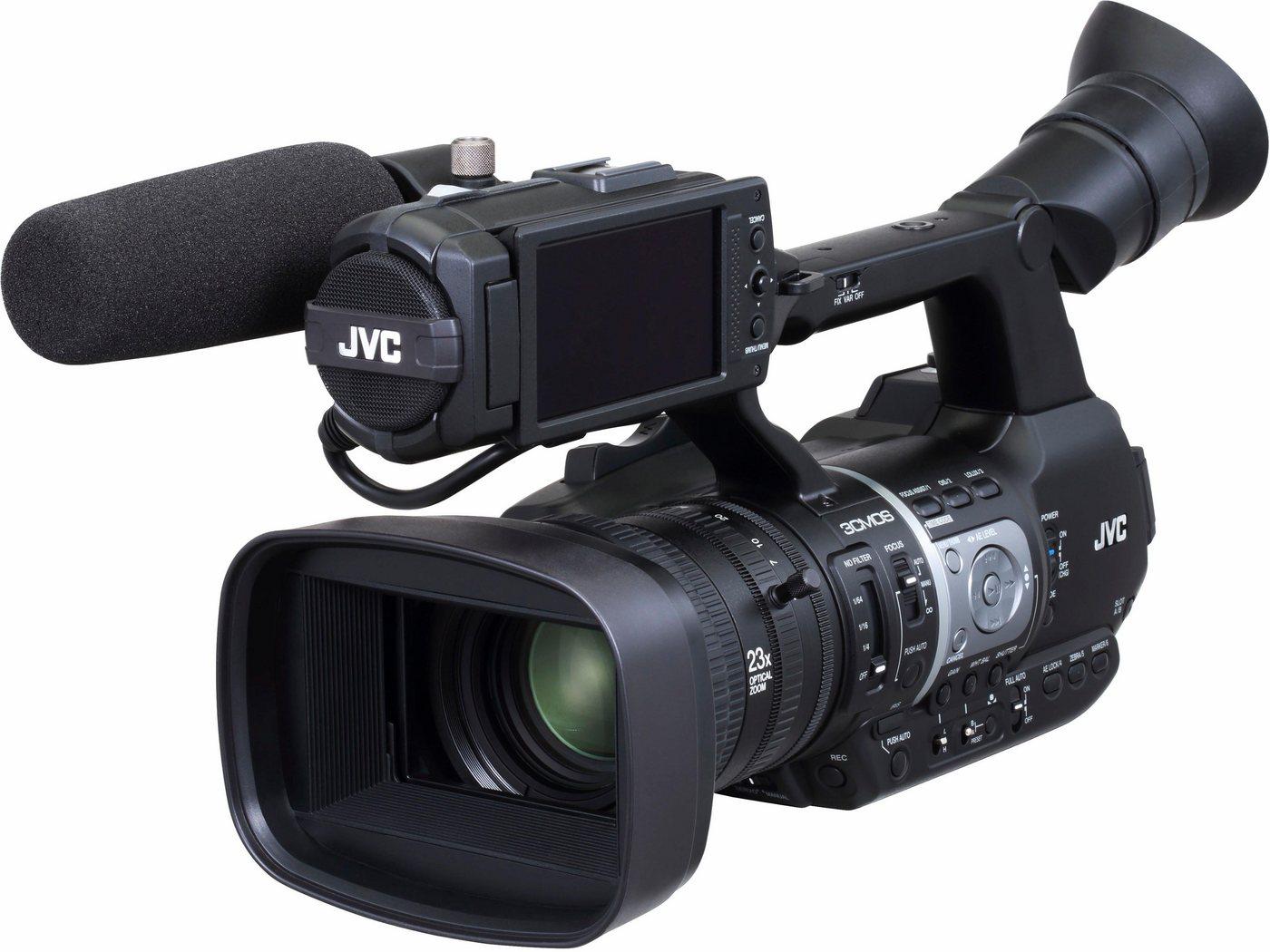 Camcorder - JVC »GY HM620« Camcorder (Full HD, 23x opt. Zoom, Bildstabilisator)  - Onlineshop OTTO