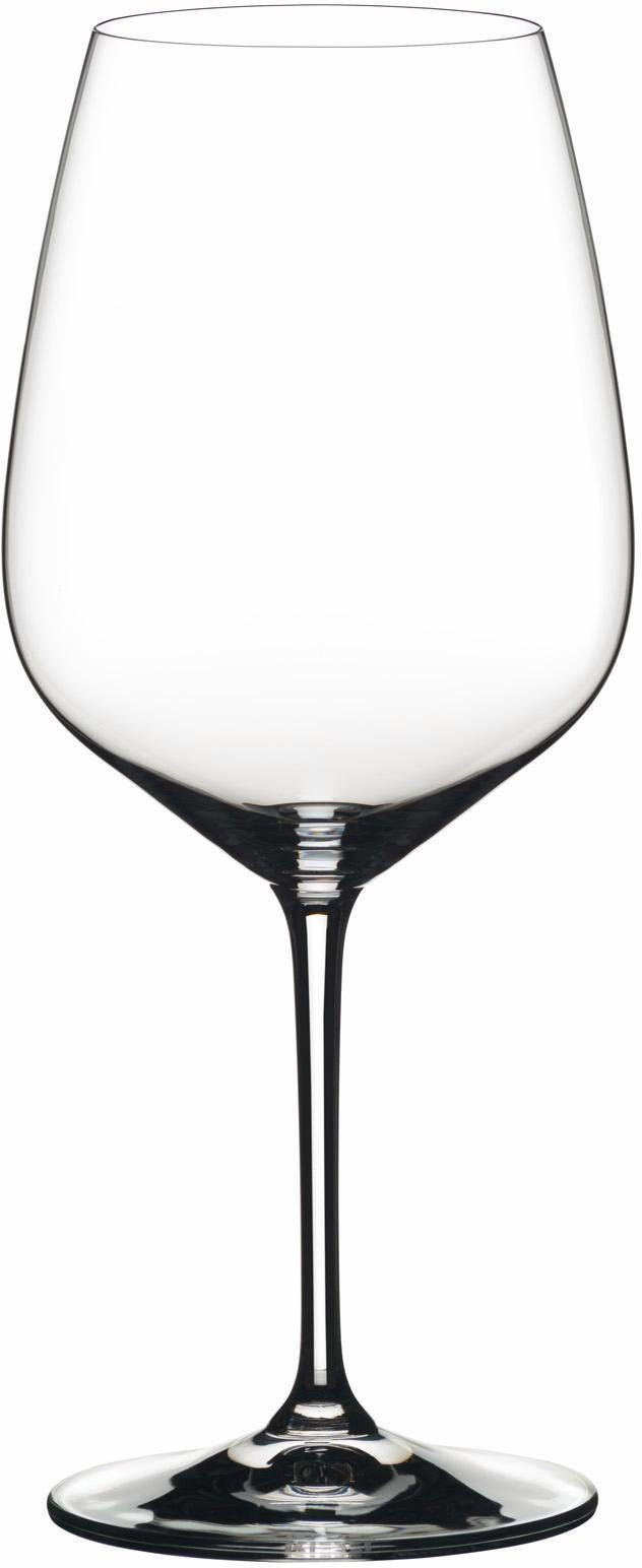 RIEDEL GLASS Rotwein-Glas, Cabernet Sauvignon, 2teilig, Made in Germany, »Heart to Heart«