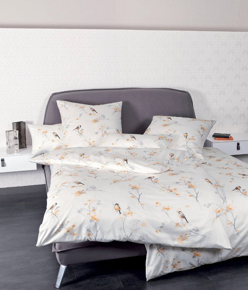 bettw sche janine la rochelle mit spatzen motiv online kaufen otto. Black Bedroom Furniture Sets. Home Design Ideas