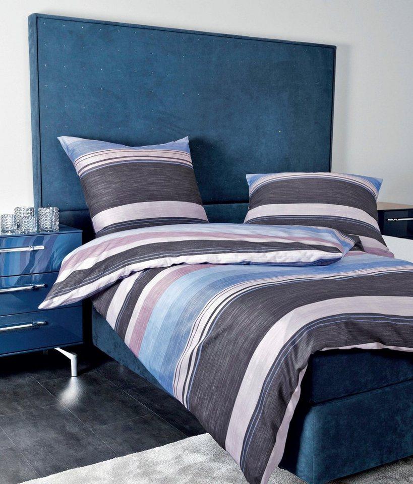 bettw sche janine grenchen mit breiten streifen. Black Bedroom Furniture Sets. Home Design Ideas