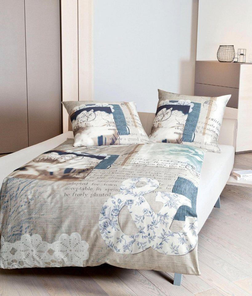 bettw sche colmar janine mit unterschiedlichen motiven online kaufen otto. Black Bedroom Furniture Sets. Home Design Ideas