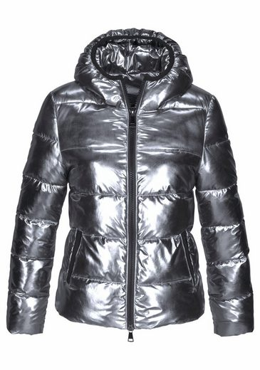 Melrose Steppjacke, im Metallic Look