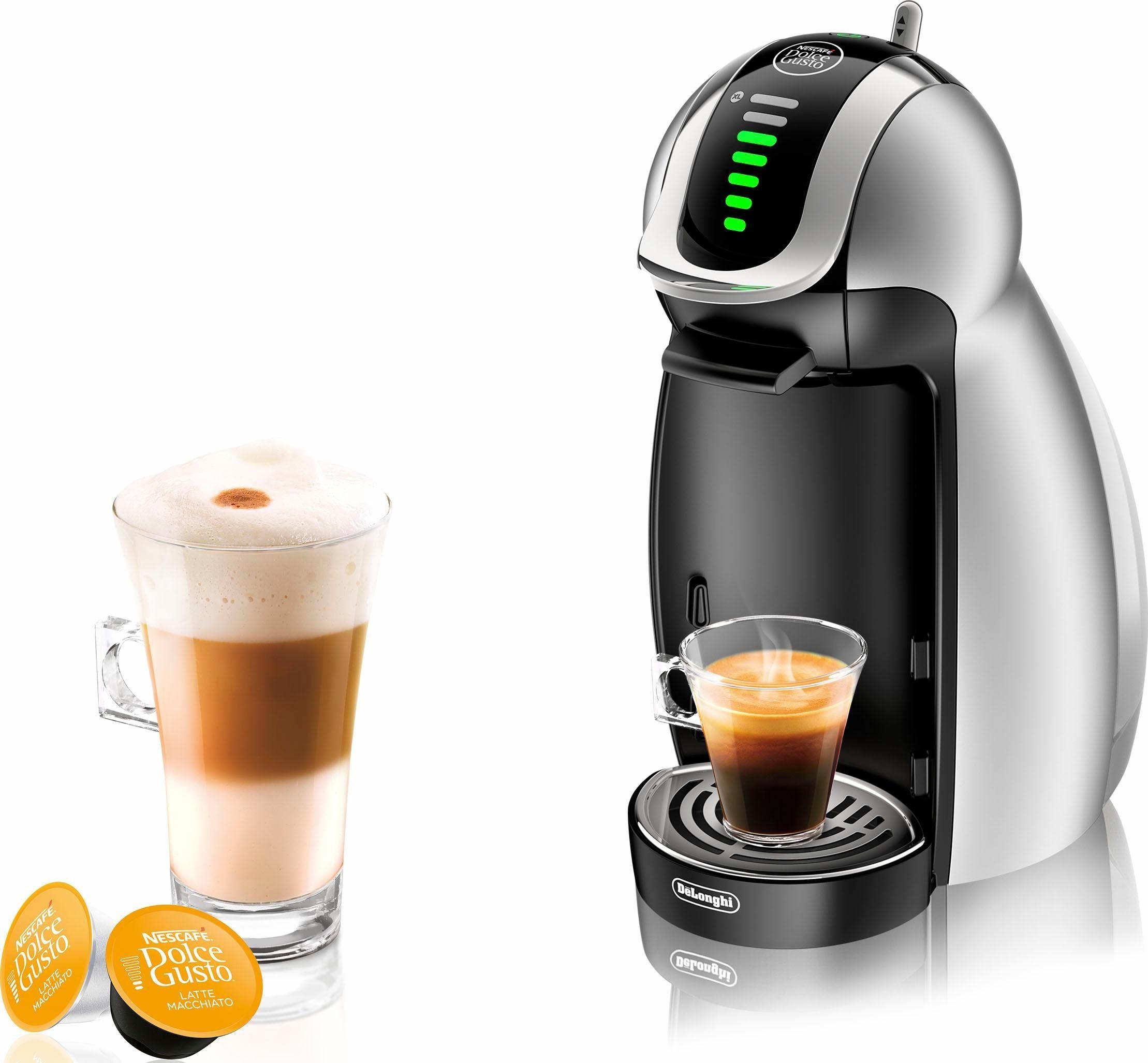 Nescafé Dolce Gusto Kapselmaschine NESCAFÉ® Dolce Gusto® Genio 2™ EDG 466.S, inkl. 10,-Gutschein