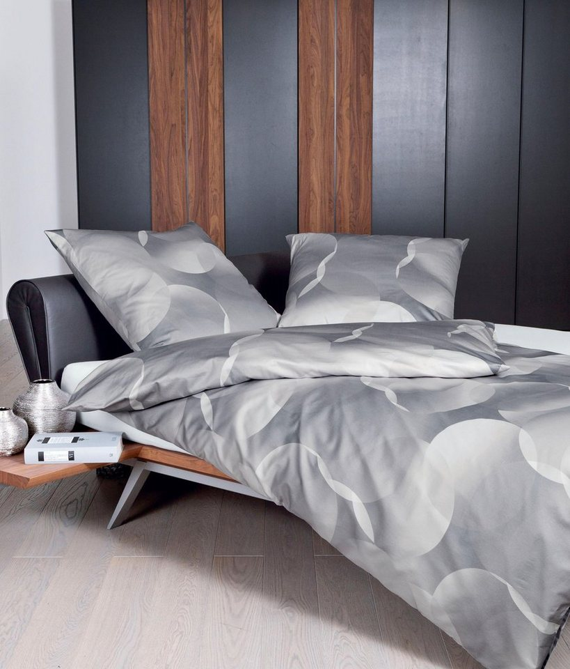 bettw sche k niz janine mit gro en kreisen versehen online kaufen otto. Black Bedroom Furniture Sets. Home Design Ideas