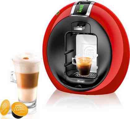 Nescafé Dolce Gusto Kapselmaschine NESCAFÉ® Dolce Gusto® Circolo™ Automatic EDG 605.R, Beleuchtete Tassenabstellfläche