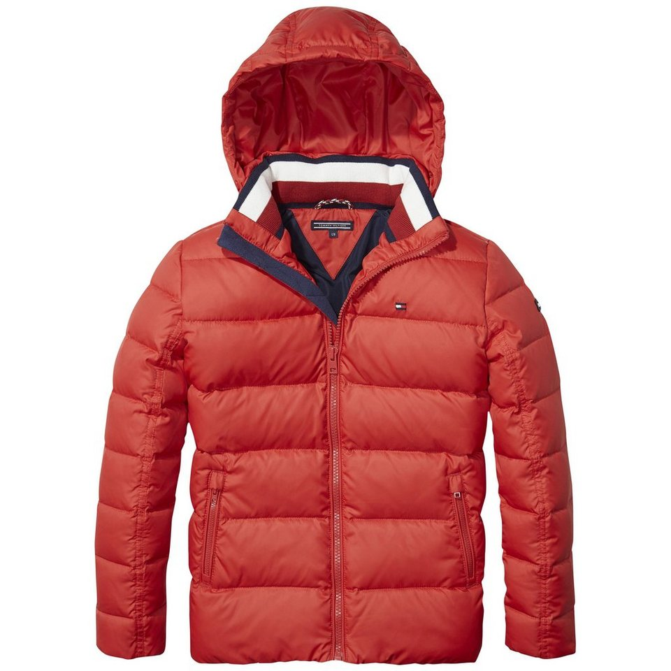tommy hilfiger jacke ame thkb basic down jacket otto. Black Bedroom Furniture Sets. Home Design Ideas