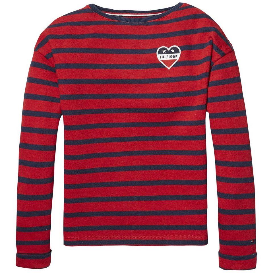 76a25f686e9a6b Tommy Hilfiger Sweatshirt »AME STRIPE BN HWK L S«
