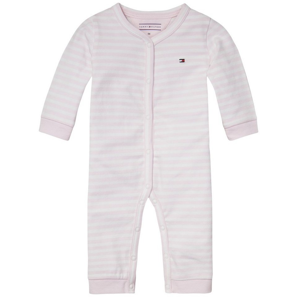 tommy hilfiger body stripe jersey baby coverall otto. Black Bedroom Furniture Sets. Home Design Ideas