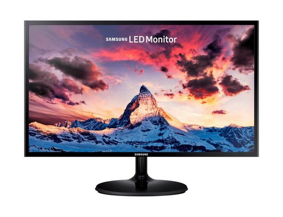 Samsung Monitor S24F350FHU LED »59,8 cm (23,5), Full HD, 1920 x 1080«