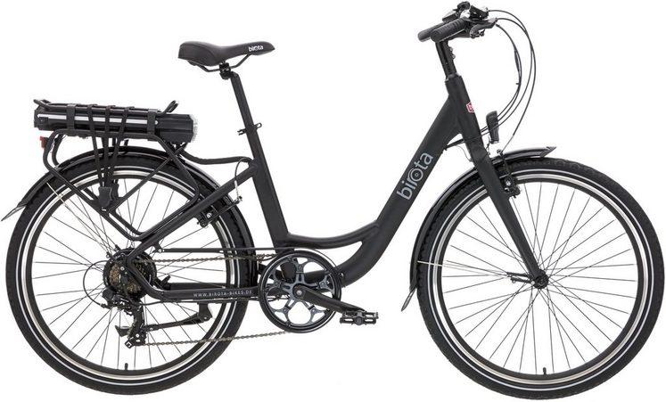 birota city e bike 36v 250w hinterradmotor 26 zoll 7. Black Bedroom Furniture Sets. Home Design Ideas